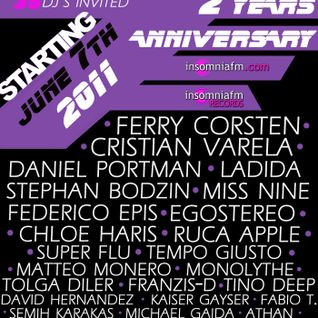 Tino Deep-2 Year Anniversary@InsomniaFm [June 7th 2011]