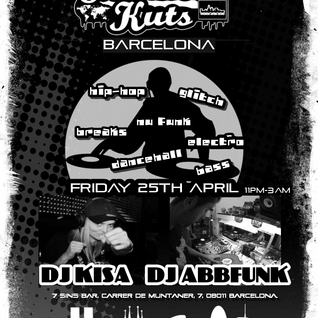 DJ ABBFunk live Breaks set @ SideShow KUTS Barcelona Apr '14
