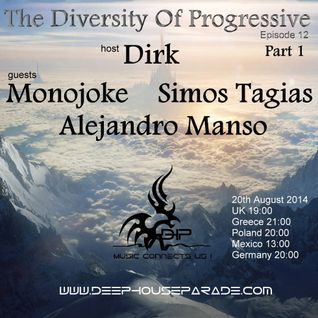 Monojoke @ The Diversity Of Progressive 12 (20th August 2014) on Deep House Parade