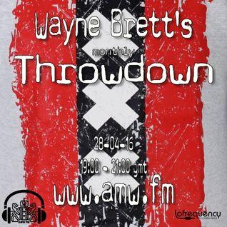 The Throwdown with Wayne Brett on AMW 28-04-16