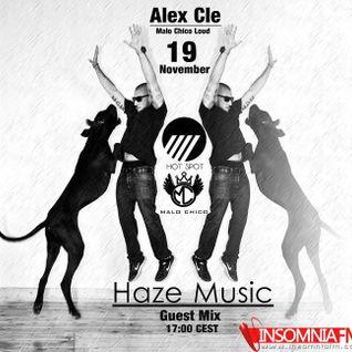 www.insomniaFM.com ! Haze Music Radio Show ! Alex Cle ! Malochico Loud (19.11.13)