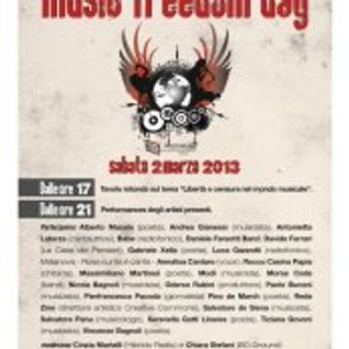 Music Freedom Day e Andrea Gianessi 24.02.2013