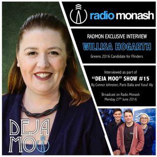 RadMon Exclusive Interview: Willisa Hogarth (Deja Moo #15)