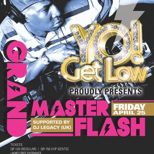 Yo! Get Low Interview with Grand Master Flash