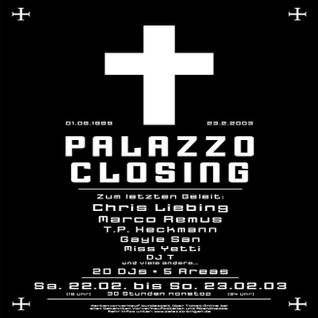 Thomas P. Heckmann @ Palazzo Closing - Palazzo Bingen - 22.02.2003