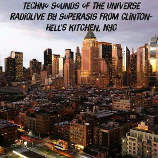 192.-Sounds of the Universe RadioShow by Superasis@Live from Clinton-Hell's Kitchen, NYC#05.05.16