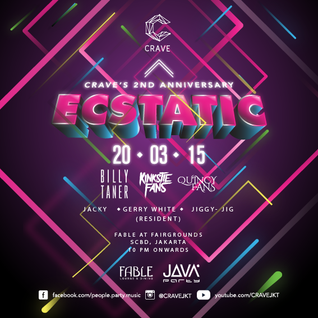 ECSTATIC: CRAVE's 2nd Anniversary