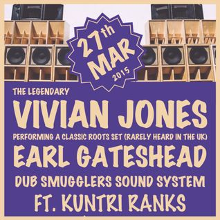 Dub Smugglers ft. Kuntri Ranks LIVE @ Antwerp Mansion 14th March 2015