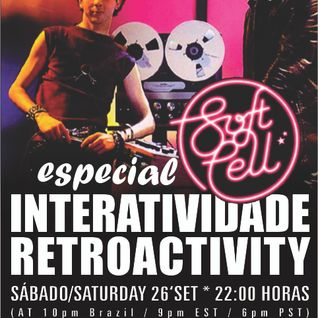 Retroactivity Radio - Interatividade Retroactivity Especial Soft Cell 26SET2015