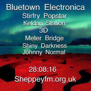Bluetown Electronica live show 28.08.16
