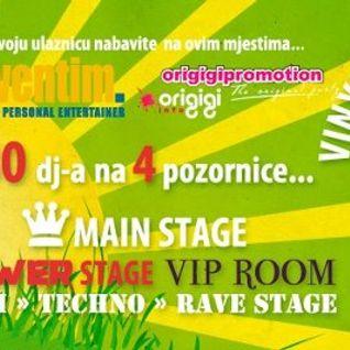 DJ T-BO - Live @ Nasipavanje - 07.07.12