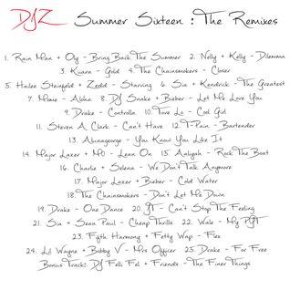 Summer Sixteen (Remix Edition)