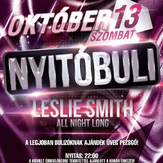 Leslie Smith - Live @ Columbus Club (Okt-06-2012)