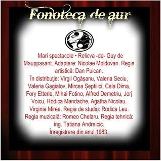 FONOTECA DE AUR  propune spectacole de certă valoare, mari titluri, în stare să atragă publicul...