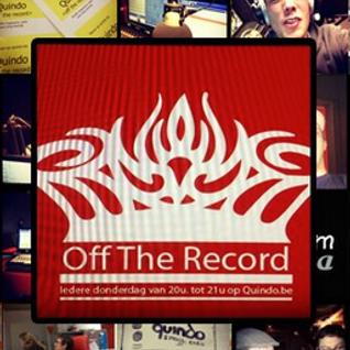 Off The Record 10 april 2014 (Gasten: Hans van Buda-eiland en Textival Kortrijk)
