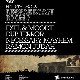 REGGAE ROAST ROOM 3 - LIVE MIX FOR FABRIC BLOG