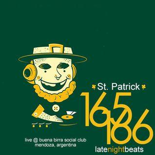 Late Night Beats by Tony Rivera - Episodes 165 & 166 - Live @ St. Patrick, Mendoza, Argentina