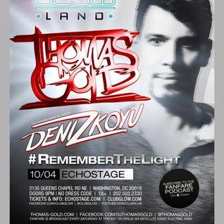 Thomas Gold - Live @ Glow, Echostage (Washington DC) - 04.10.2013