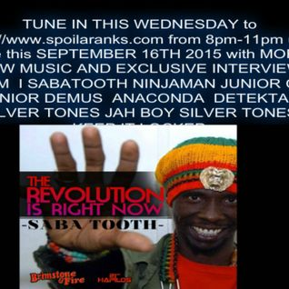 ISABATOOTH RADIO INTERVIEW LIVE AND DIRECT FROM JAMAICA SEPT 16,2015 LIVE ON RANKS RADIO