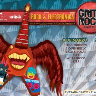 ALFY @ GRITO ROCK 2013 - URUK KALLI - MANAGUA, NICARAGUA