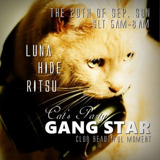 "DJ Cat Mix 20150920 at Cat's Party ""GANG STAR"""