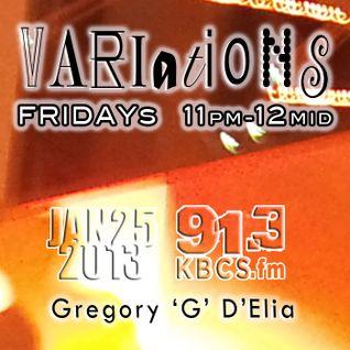 VARIATIONS 01.25.2013