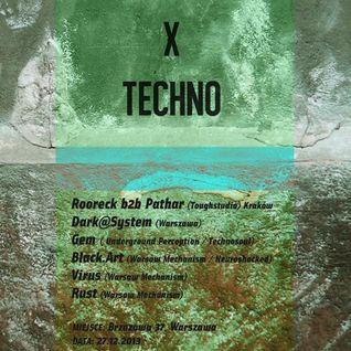 Live Brzozowa 37 2013 x Techno - Dark at System