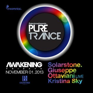 Kristina Sky Live @ Pure Trance LA (with Solarstone + Giuseppe Ottaviani @ Exchange) [11-01-13]