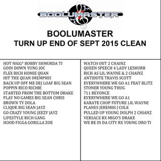 http://www.boolumaster.com/mixes-dj-blog/turn-up-end-of-sept-2015-full-clean-mix/