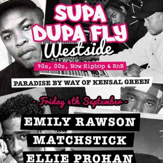 Westcoast Hiphop Minimix x Supa Dupa Fly x Paradise 04.09.15