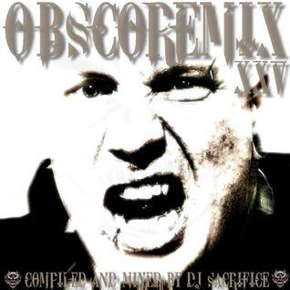 """OBSCOREMIX XXV"" Dutch-Mainstyle-Hardcore Mixed By DJ Sacrifice"