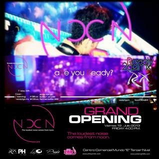 Grand Opening peak-hour mix @ NOON Day Club by Pride Nightclub Mexico City  2013