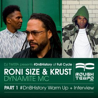 Roni Size & Krust, Dynamite Mc - DJ Twista - Rough Tempo Part 1 - Interview