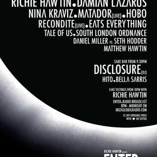 Richie Hawtin - Live @ Enter.Main, Space (Ibiza) - 25.07.2013