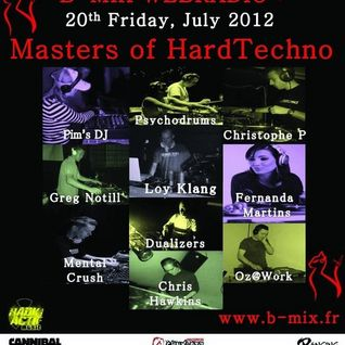 Pim's DJ presents PSYCHODRUMS (5Minds rec./Jackstar rec.) - Masters Of HardTechno (20/07/12)