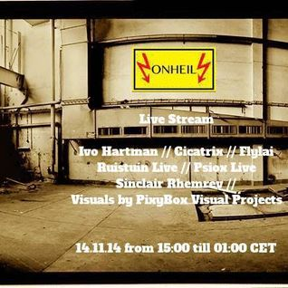 Sinclair Rhemrev @ Onheil Live Stream Night 14-11-2014