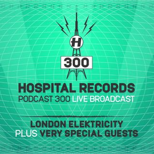 Hospital Podcast 300 with London Elektricity