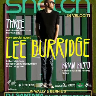 Lee Burridge - Promo Mix for 8/12/2011 Snatch event