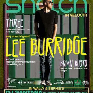 Lee Burridge - Promo Mix for 8/12/2011 Snatch event