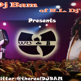 @THEREALDJBAM PRESENT WU N B THE BLEND MIXTAPE-WU TANG INSTRUMENTALS LACED WITH R N B ACAPELLAS