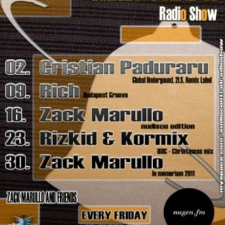 Zack Marullo - Good Bye 2011 mix @ Audio Control Radio Show
