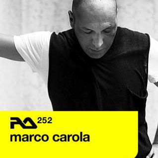 RA.252 Marco Carola | 28 March 2011