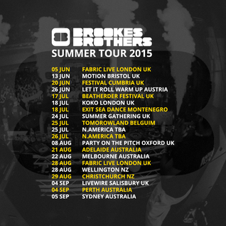 Brookes Brothers (Viper Recordings) @ KISS Drum & Bass Radio Show, Kiss 100.0 FM (20.05.2015)