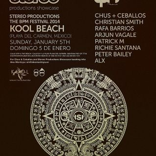 Arjun Vagale - Live @ BPM 2014 Stereo Productions Showcase, Kool Beach - 05.01.2014