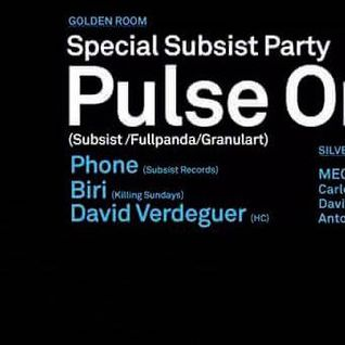 Phone @ Miniclub Special Subsist Records Party (14.8.15)