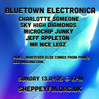 Bluetown Electronica live show 13.09.15