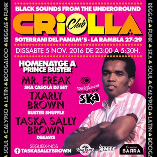 Txarly Brown's Buster Shuffle @ Criolla Club XVI - Homenatge a Prince Buster (5-11-2016)
