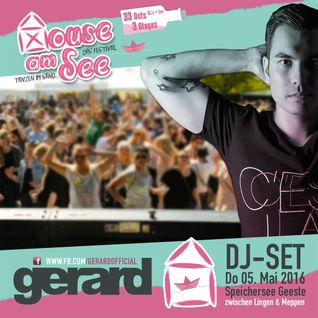 Gerard - The Mix @ House am See Festival 2016