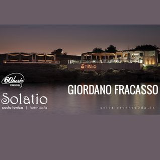 Giordano Fracasso live set at Solatio // Salento // Italy 2014-08-19