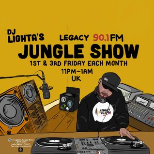 Dj Lighta's Jungle Show. 18.09.2015. Old Skool Rave to Jungle.